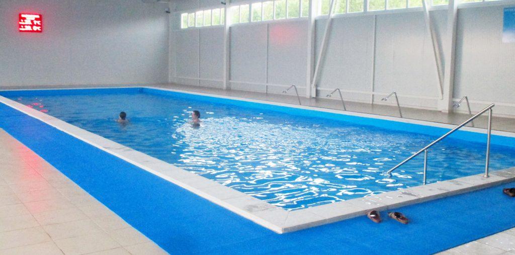 Крытый бассейн в термальном комплексе Жемчужный