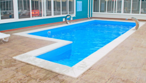 Еще один бассейн с термальными водами на территории комплекса Жемчужный