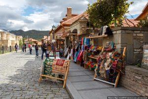 Торговля сувенирами в Мцхете