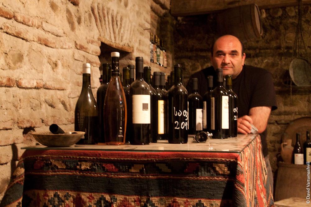 Дегустация грузинских вин в туре на море в Кобулети