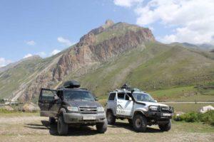 Джиппинг поездки по Северному Кавказу