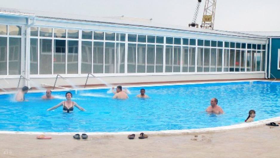 Бассейн с термальными водами в Жемчужном