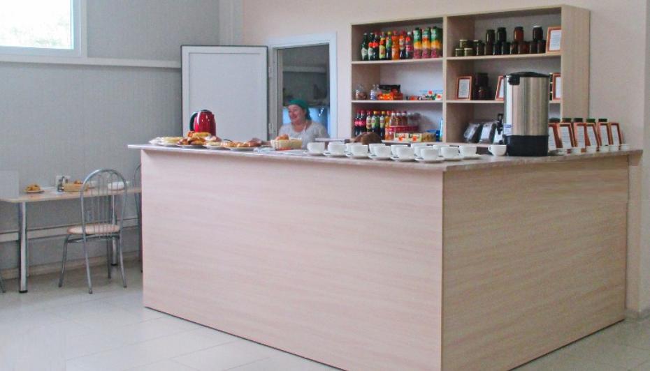 Кафетерий для отдыхающих