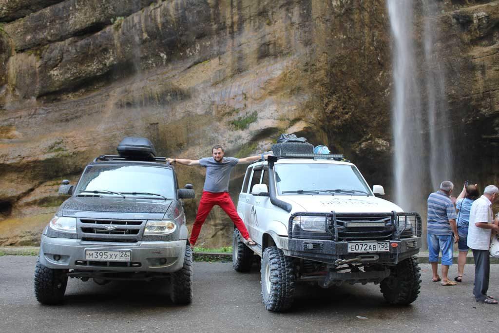 Джиппинг поездка на водопад Царская Корона