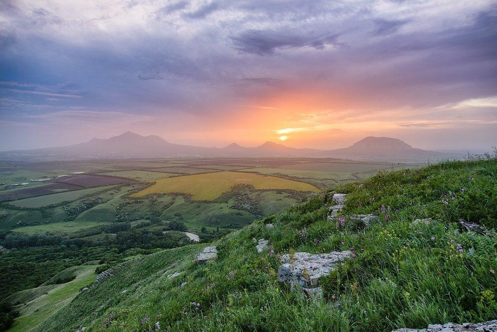 Панорама Кавказских Минеральных Вод